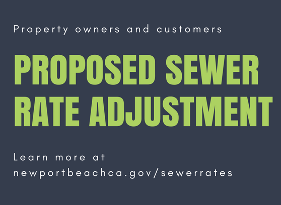 Proposed Sewer Rate Adjustment