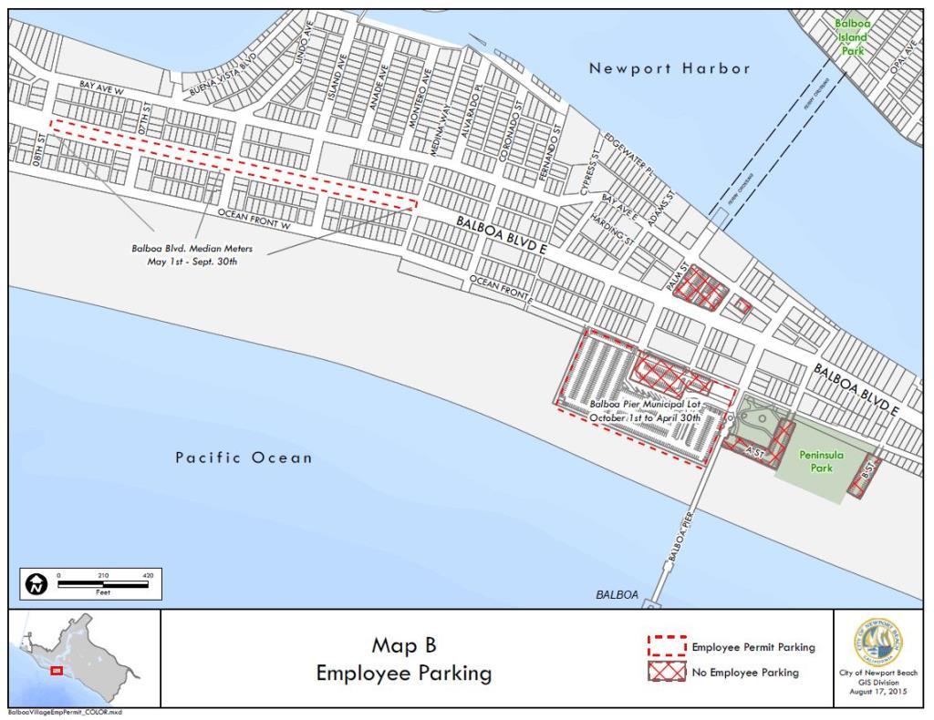 City Of Newport Beach Ca Parking Permits