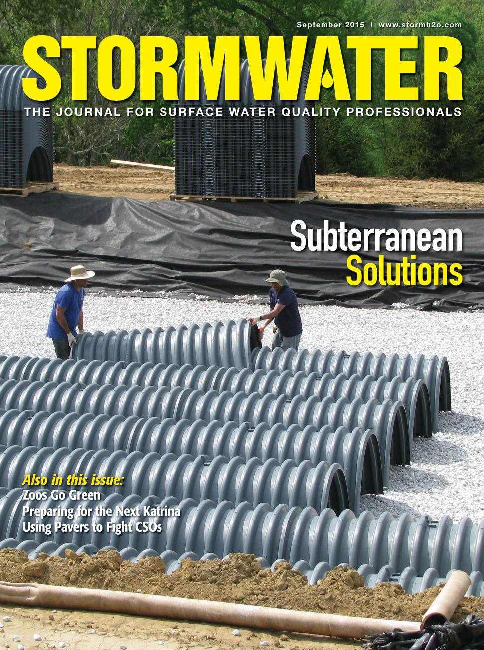 Stormwater Magazine Cover