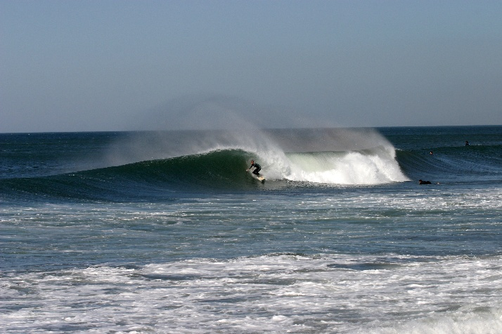 Surfing - offshore conditions