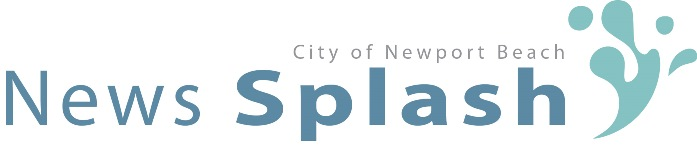 City of Newport Beach News Splash