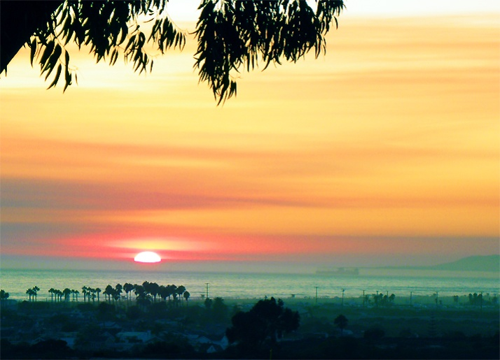 Newport Banning Ranch Sunset