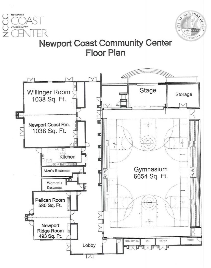 NCCC Facility Floor Plan
