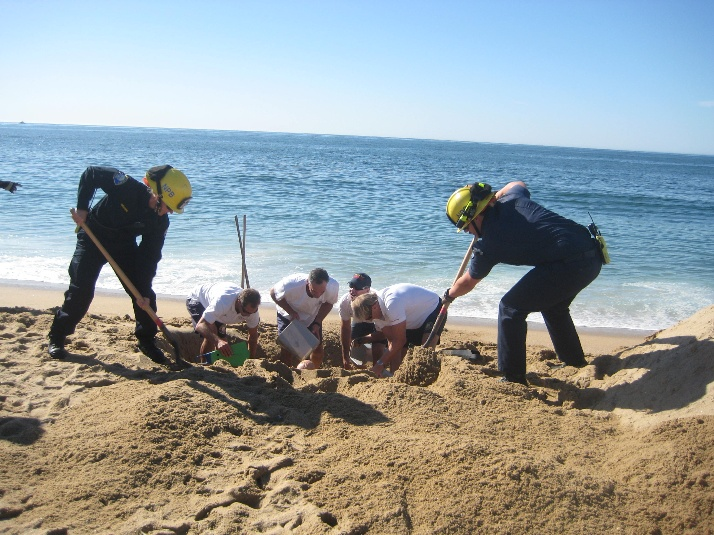 Sand Entrapment Training #1