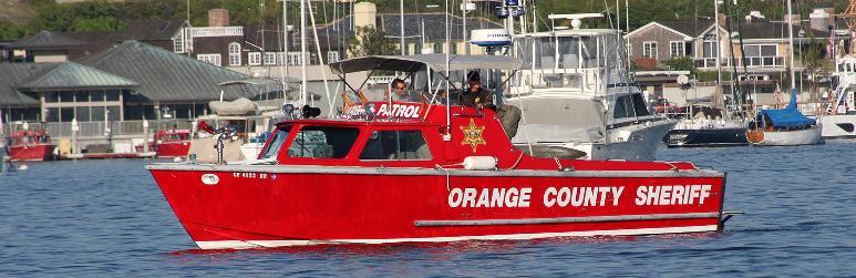 Sheriff's Harbor Patrol | City of Newport Beach
