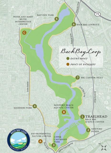 Back Bay Loop Trail City Of Newport Beach