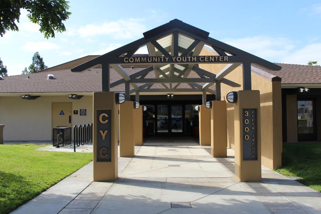Community Youth Center Entrance