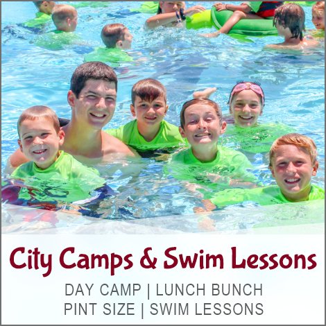 City Camp and Swim Lessons