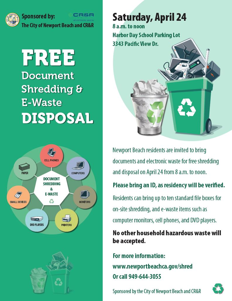 ewaste shred flier
