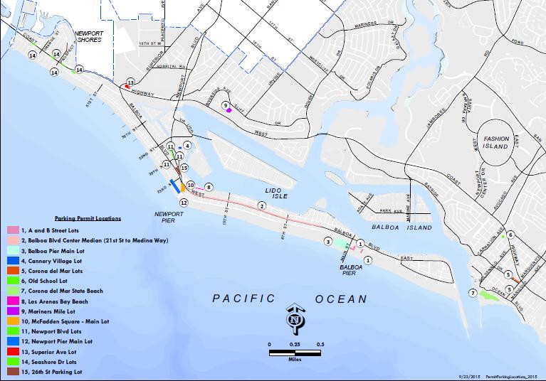 Annual Parking Permit City Of Newport Beach