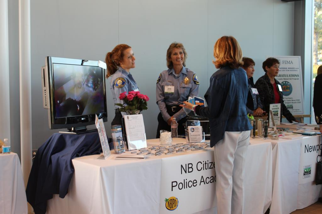 WiNN Partner Newport Beach Citizens Police Academy