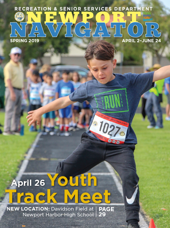 Spring 2019-Newport Navigator-Front Cover