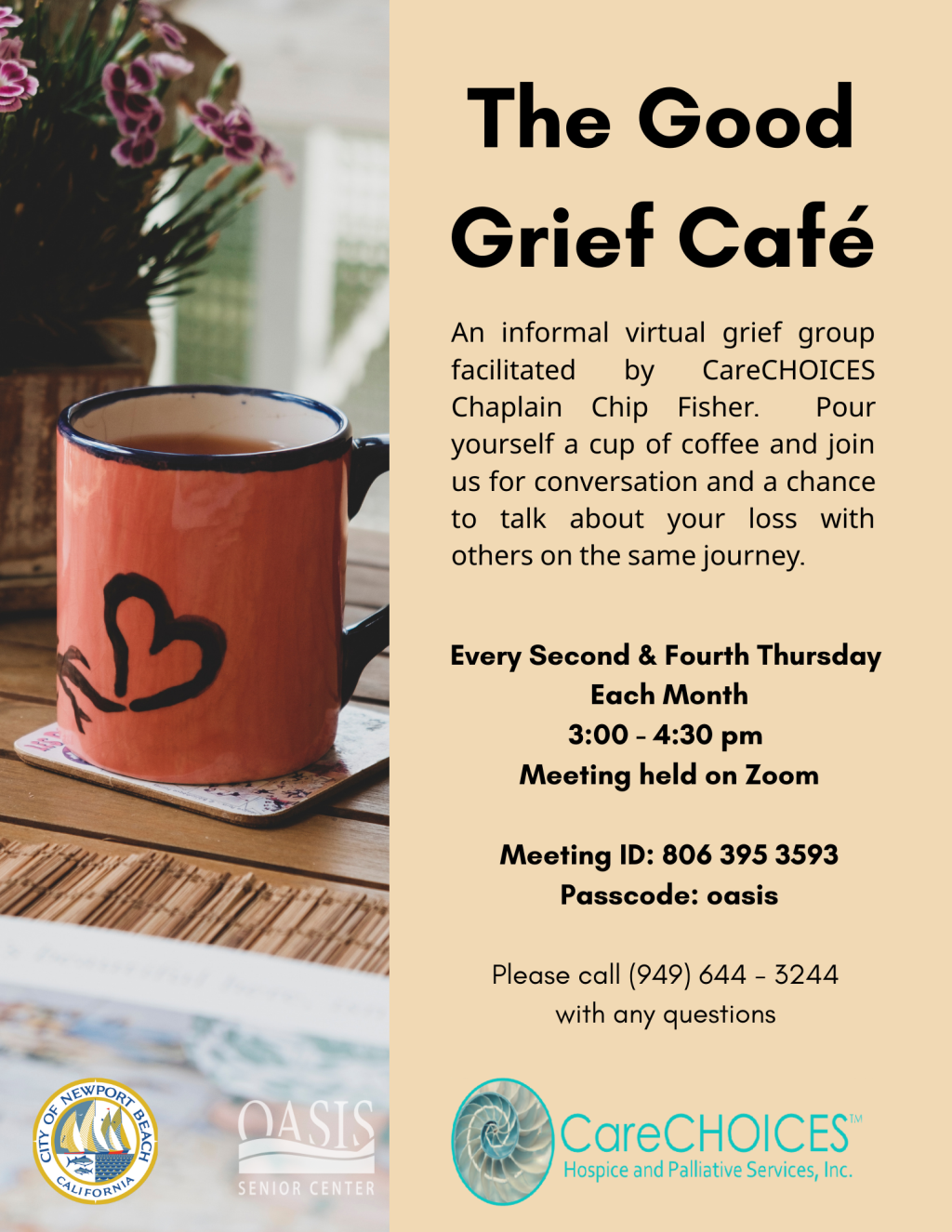Grief Group Virtual March 2021