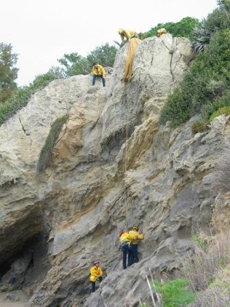 Cliff Rescue Training #2