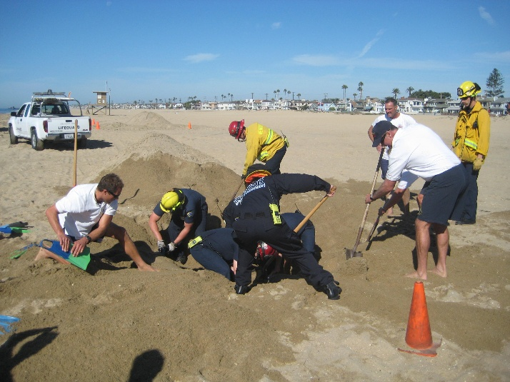 Sand Entrapment Training #2